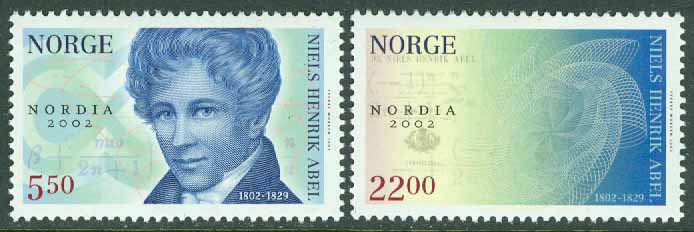 Norge - F 1481-1482 Nordia 2002, 2 kpl **