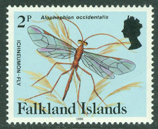 Falkland Islands - M  391 II Alophophion occidentalis, 1 kpl **