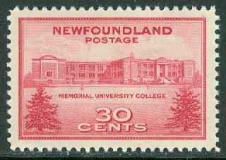 Newfoundland - M  240 Memorial University College, 1 kpl **