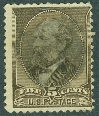 USA - M   51 President James A Garfield, 5 C stpl
