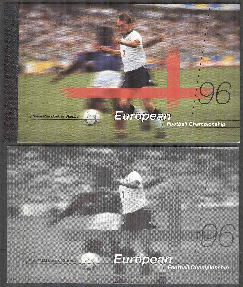England - M 1625-1629 + Elisabeth II EM i Fotboll i England 1996 ca2cc288572a1