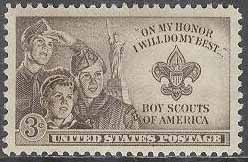 USA - M  613 2:a Nationell Ungdomscoutingträffen i Valley Forge 1950, 1 kpl *