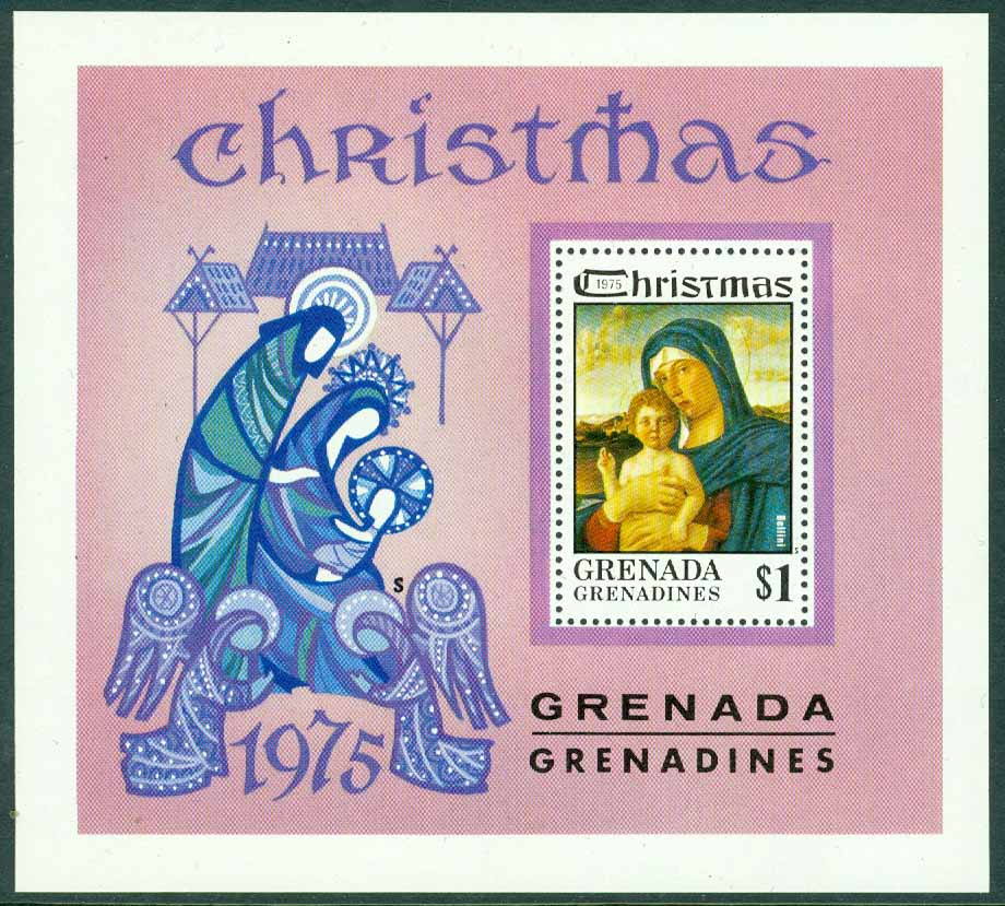 Grenada Grenadines - M  147 (BL 16) Jul 1975, block **