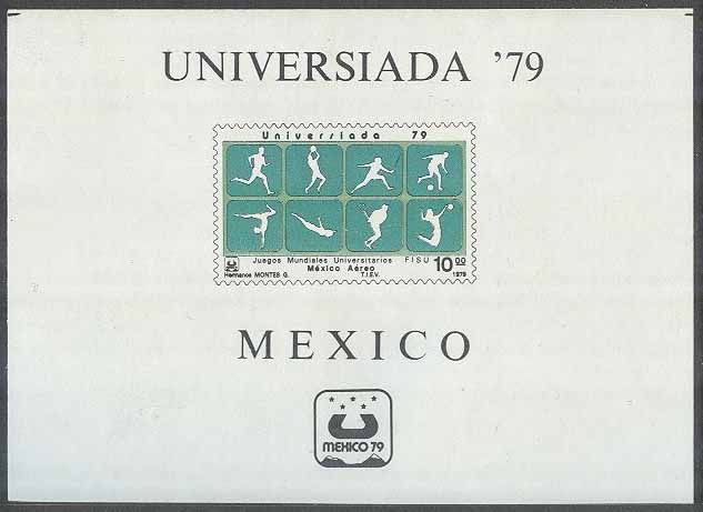 Mexiko - M BL  25 Sport - Universiaden i Mexiko City 1979 II, Block **