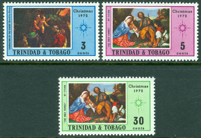 Trinidad & Tobago - M  311-313 Jul 1972, 3 kpl **