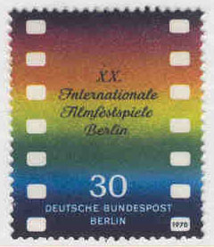 Berlin - M  358 Internationella filmfestspel, 1 kpl**
