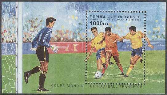 Guinea - M BL 498 VM i Fotboll i Frankrike 1998 88bb377099d76