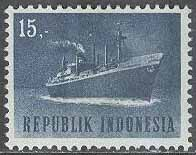 Indonesien - M  447 Transport - Passagerarfartyg, 15 R **