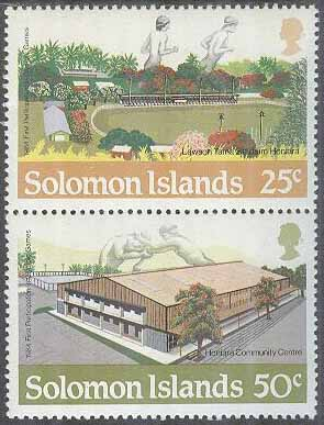 Solomon Islands - M  537-538 OS i Los Angeles 1984 I Arenor, par **