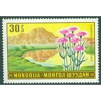Mongoliet - M  553 Blommor, Dianthus ramosissimus, 30 M **