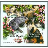 Pitcairn Islands - M BL   30 Katter, block **