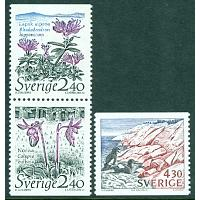 Sverige - F 1583-1585 Nationalparker 1, 3 kpl **