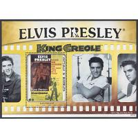 Antigua & Barbuda - M BL 663 Elvis Presley, King Creole, block**
