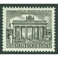 Berlin - M   42 Brandenburger Tor, 1 Pf **