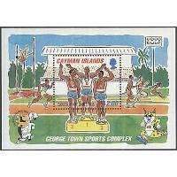 Cayman Islands - M BL  21 Sport - Internationella Karibiska spelen 1995, Block **