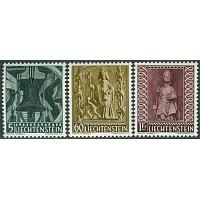 Liechtenstein - M  386-388 Jul 1959, 3 kpl **