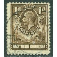 Nordrhodesia - M    2 Kung George V, 1 P stpl